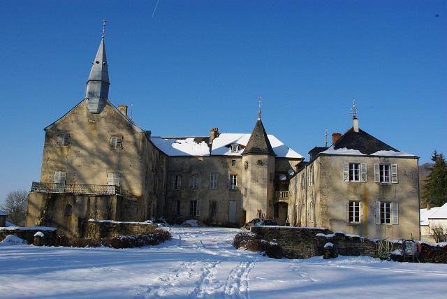 Neige sur le chateau